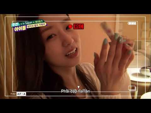 주간아이돌 (Weekly Idol) - APINK in Saipan 보미의 셀프 카메라 (Vietnam Sub)