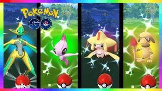 NEW MYTHICAL CELEBI / LEGENDARY DEOXYS & SMEARGLE SPRITES ADDED in Pokemon Go!