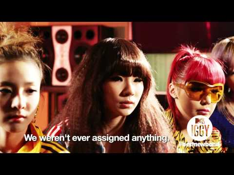 Get to Know 2NE1, MTV Iggy's Best New Band 2011 !