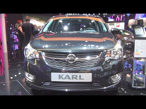 Opel Karl Exclusive 1.0 ECOTEC DIT 55 kW (2016) Exterior and Interior in 3D