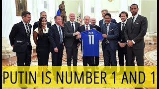 Putin Meets Football Legends: FIFA World Cup Has Busted Negative Stereotypes About Russia!