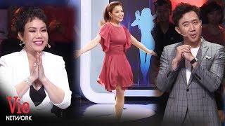 Màn biểu diễn nhảy bằng một chân của người phụ nữ nghị lực khiến Trấn Thành, Việt Hương rưng rưng