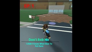 THEY TRIED TO ROB MY STORE!! Roblox Retail Tycoon Ep: 1