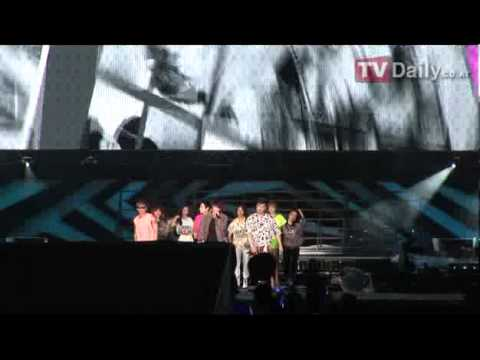 120818 SMTOWN in Seoul OOPS!!! - Super Junior feat. F(x) [TVdaily]