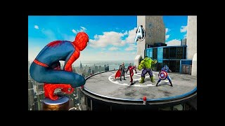 Finding The Avengers in Spiderman PS4!
