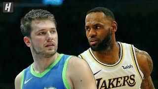 Dallas Mavericks vs Los Angeles Lakers - Full  Highlights | December 1, 2019 | 2019-20 NBA Season