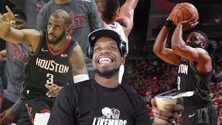 LOL HARDEN LOVES WINNING THE WRONG GAMES! ROCKETS vs TIMBERWOLVES HIGHLIGHTS REACTION