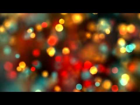 Christmas Lights Looping Background