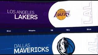 LA Lakers vs Dallas Mavericks Game Recap   1/7/19   NBA