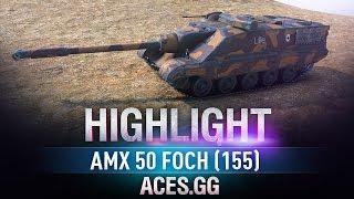 Забытая легенда. AMX 50 Foch (155)