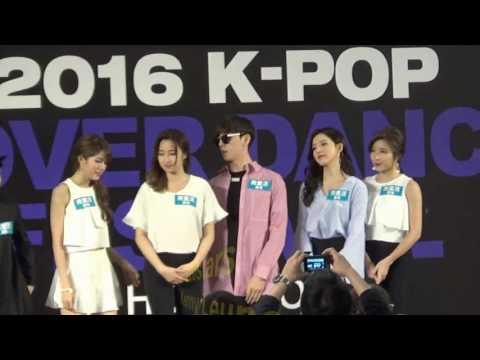 [中字] EXO Dance Tutor - Kasper 金泰宇Kim Tae Woo(김태우) K-Pop Cover Dance Festival In Hong Kong 20160514