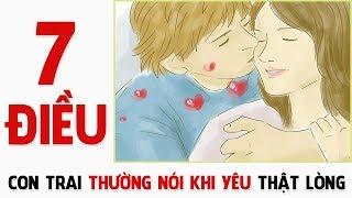 Những điều con trai thường nói khi yêu bạn thật lòng! Con gái đã biết chưa? | Blog HCĐ ✔