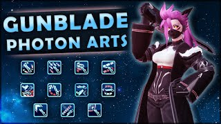 PSO2: Gunblade Photon Arts [Not Luster]