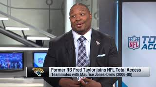 MJD catches up with former Jags teammate Fred Taylor