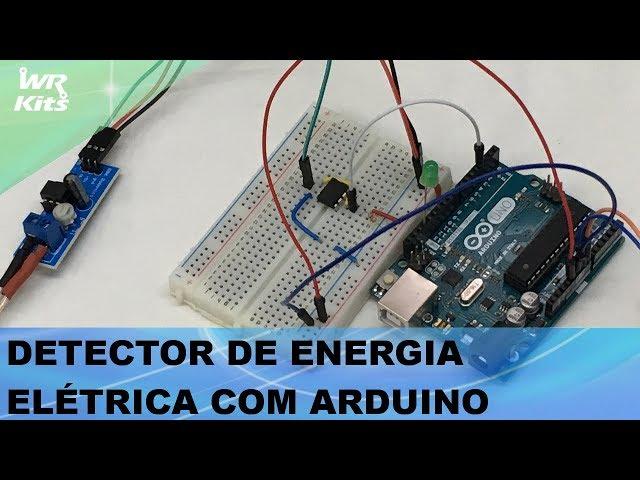 DETECTOR DE ENERGIA ELÉTRICA COM ARDUINO