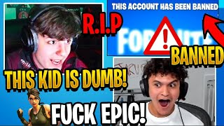 Clix Reacts to Jarvis Playing Fortnite & Get's Banned Again On Stream! (RIP JARVIS)