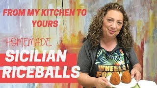 Homemade SICILIAN ARANCINI (Rice Balls) 🇮🇹🍚🍽