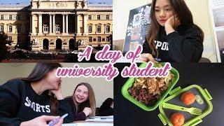DU HOC SINH UKRAINE | #3 A day of university student | Đi học ngày đông