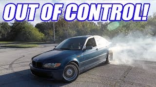 Trying Not To Kill Cooper While Drifting Circles Around Him! Welded Differential install