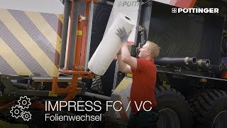 Neues Video: Folienwechsel bei den IMPRESS Press-Wickelkombinationen