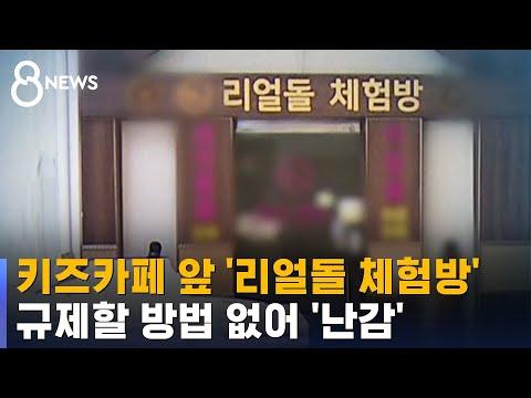 키즈카페 앞 건물에 '리얼돌 체험방'…난감한 학부모 / SBS