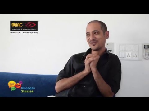 Abhishek De, creative director, FutureWorks, shares his journey with MAAC