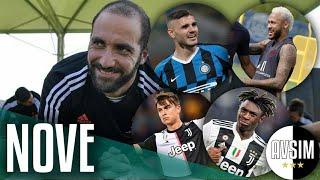 Chi sarà il numero 9 della Juve? Icardi, Neymar o...     Avsim Zoom