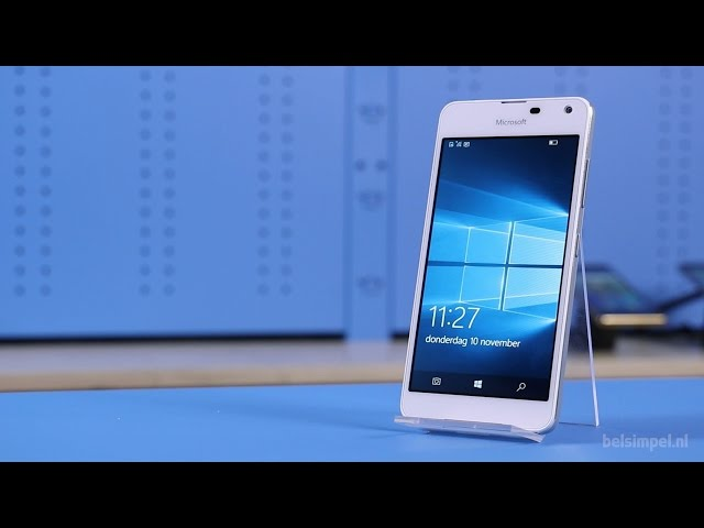 Belsimpel-productvideo voor de Microsoft Lumia 650 Dual Sim White