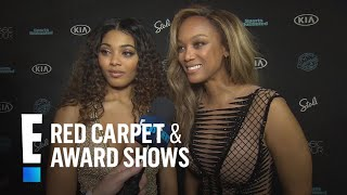 "Tyra Banks and Danielle Herrington's Similar ""SI"" Journey 