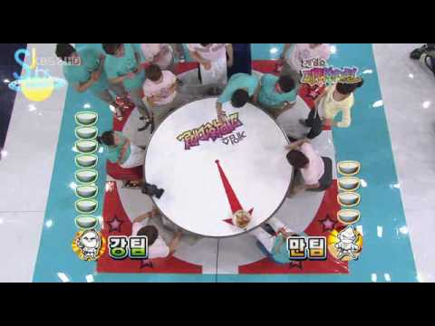 Cute Fun Food Game with Superjunior ( eng sub )