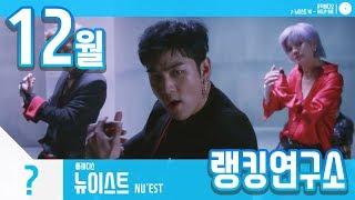 [랭킹연구소] 2018년 12월 보이그룹 순위 (남자아이돌 브랜드) | K-POP IDOL Boy Group Chart (December Brand)
