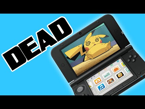 Nintendo is ENDING the 3DS because of Switch Lite?