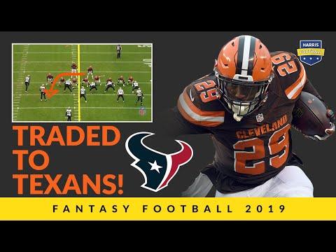 Duke Johnson's Trade To Texans Makes A Big Fantasy Football Ranks Splash