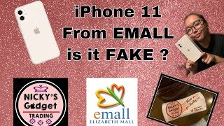 iPhone 11 from EMALL is it ORIGINAL or FAKE !!??