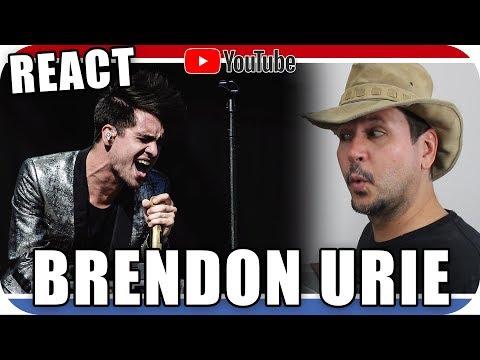 BRENDON URIE - PANIC AT THE DISCO - Marcio Guerra Reagindo React Reação Live Acoustic Music Pop Rock