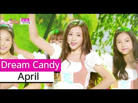 [HOT] April - Dream Candy, 에이프릴 - 꿈사탕 Show Music core 20150829