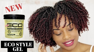 BOMB!!! WASH AND GO | NEW ECO STYLER BLACK CASTOR AND FLAXSEED OIL GEL | JOURNEYTOWAISTLENGTH
