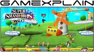 Smash Bros Wii U: Yoshi's Woolly World Stage (1080p Direct