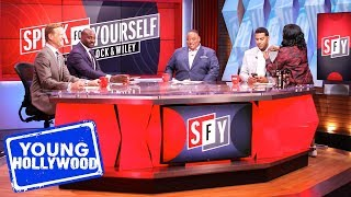 Behind The Scenes with Speak for Yourself Hosts Jason Whitlock & Marcellus Wiley!
