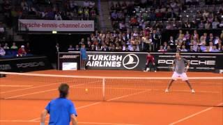 Pete Sampras vs Carlos Moya - Berenberg Classics 2014 Porsche Tennis Grand Prix