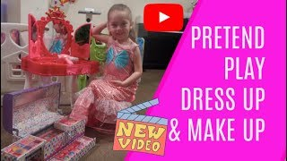 Sisters Pretend Play Dress Up & Make Up
