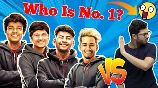 Top 10 Streamers In Indian Gaming Community | Carryislive, Dynamo, Mortal, Scout, Total Gaming