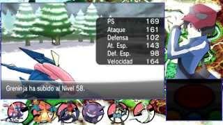 Pokémon X - (Parte 30) - Mamoswine ! - De camino a la Gruta Helada - Chequio