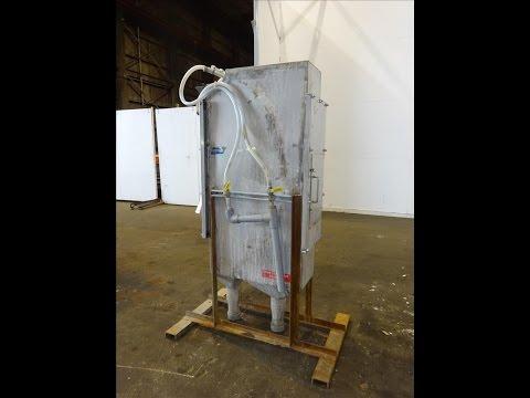 Used- Johnson Screens Vee-Wire DSM Sieve-Bend Screening Unit - stock # 48243018