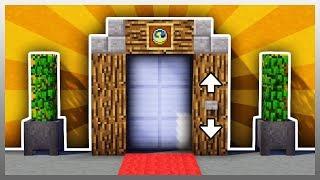 CÁCH LÀM THANG MÁY TRONG NHÀ NHƯ THẬT TIỆN LỢI CHO SINH TỒN TRONG MCPE | Minecraft PE 1.2