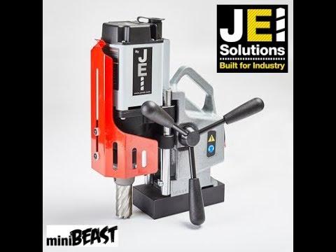 JEI  JM201 MiniBeast Slugger Magnetic Drill 35mm Diameter