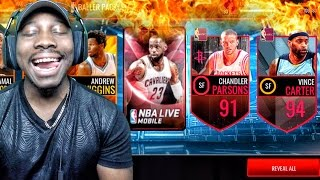 BALLER PACK OPENING & ADDRESSING QJB CHALLENGE! NBA Live Mobile 16 Gameplay Ep. 93