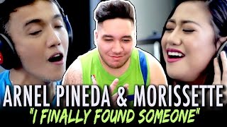 Arnel Pineda & Morissette Amon - I Finally Found Someone (Cover) REACTION!!!