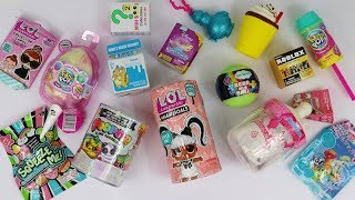 Squishies & Surprise toys unboxing LOL Hairgoals, Unicorn slime, Smooshy Mushy Baby + more!