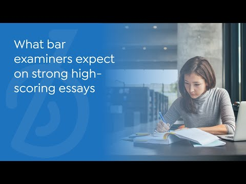 Write high-scoring essays with Essay Architect, exclusive to BARBRI.